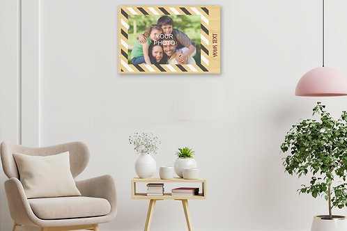 Personalized Poster/Collage/Memories Printed on Wood (MDF)