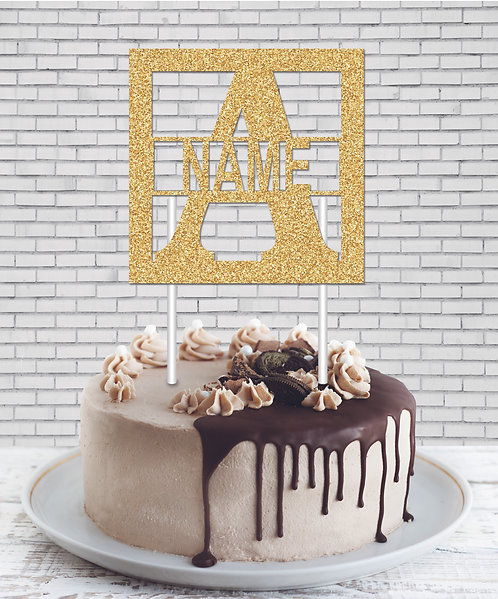 Cake Topper (CT Gold 03)