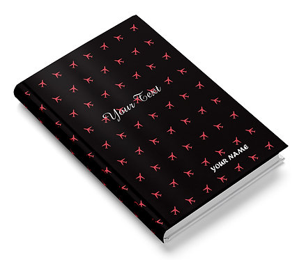 Personalized Hardbound Pasted Board NoteBook / Diary (NBHB 024)