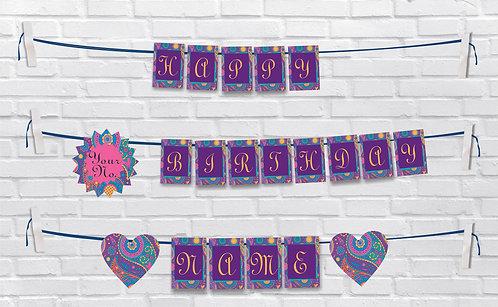 Birthday Bunting Banners (BBBan 19)