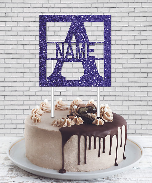 Cake Topper (CT Blue 03)