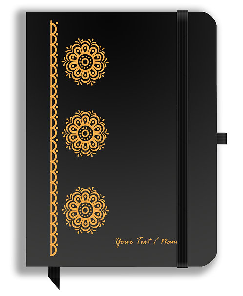 Personalized Leather NoteBook / Diary (NBLTHR 017)