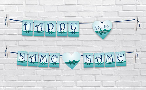 Anniversary Bunting Banners (AnBBan 22)