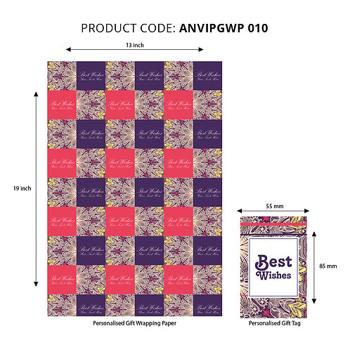 Wrapping Paper 010 (Pack of 5)
