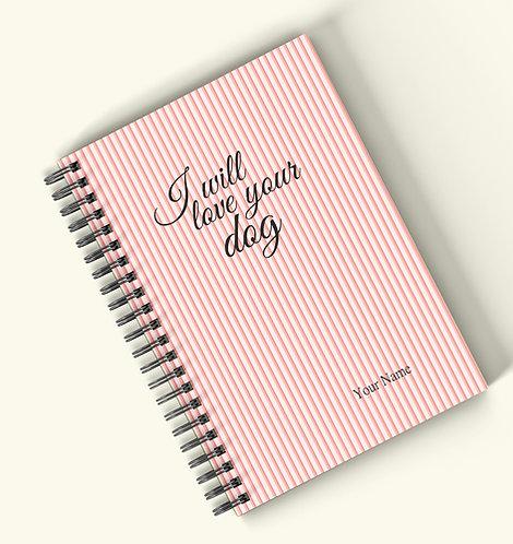 Personalized Hardbound Wiro / Spiral NoteBook / Diary (NBHB Wiro 003)