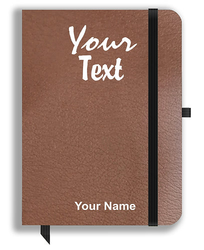 Personalized Leather NoteBook / Diary (NBLTHR 001-10A)
