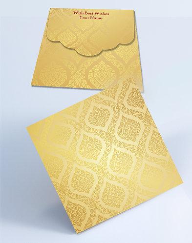 Customized Square Shagun Envelopes (SESmall 12)