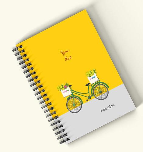 Personalized Hardbound Wiro / Spiral NoteBook / Diary (NBHB Wiro 022)