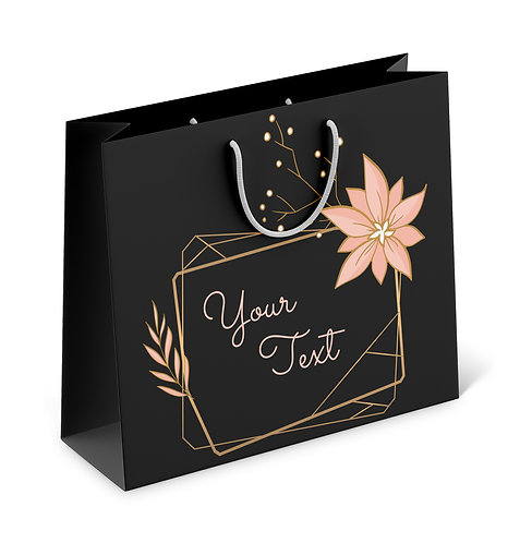 Personalized Paper Gift Bags (RBAG 009)