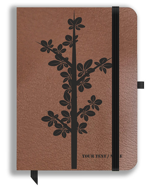 Personalized Leather NoteBook / Diary (NBLTHR 001-8A)