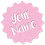 Thumbnail: Gift Tags (Pack of 4 / 10)  (GT BPINK GLTR 01)