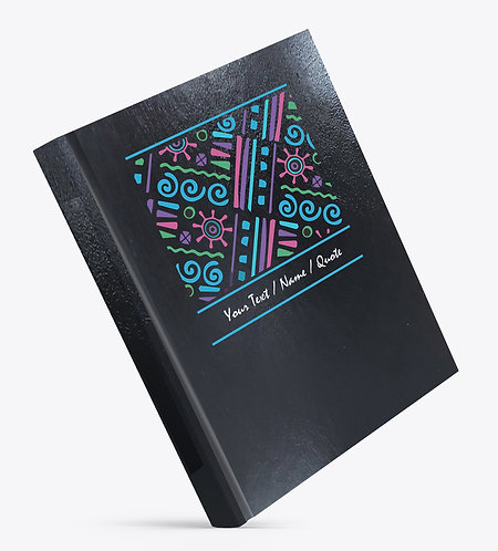 Personalized Hardbound Leather Cover Large NoteBook / Diary (NBLTHR L 006)