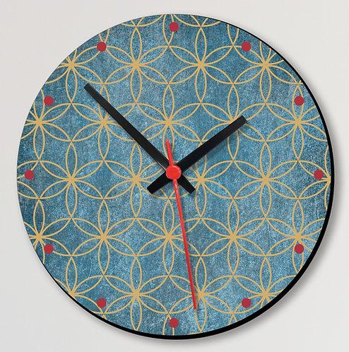 Wooden Printed Wall Clock (09)