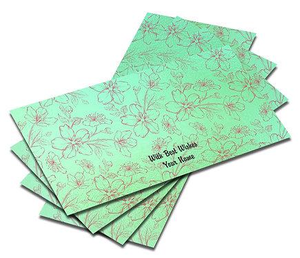 Customized Pearl Mettalic Finish Shagun Envelopes