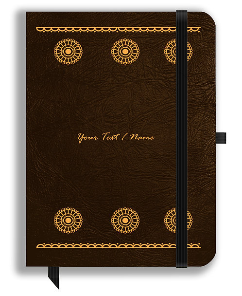 Personalized Leather NoteBook / Diary (NBLTHR 027)