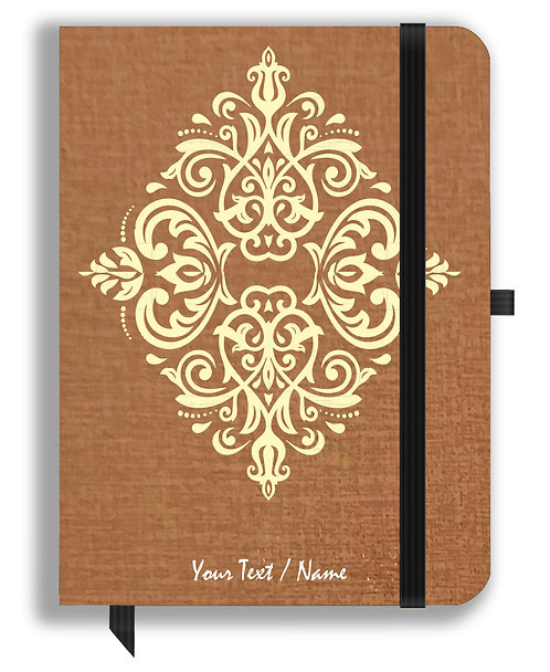 Personalized Leather NoteBook / Diary (NBLTHR 001-4)