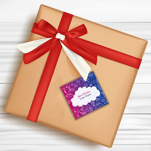 Gift Tags (Pack of 30 / 60)  (GT 22)