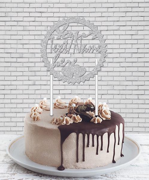 Cake Topper (CT Silver 04)