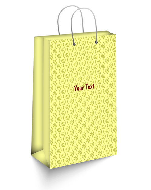 Personalized Paper Gift Bags (SBAG 012)