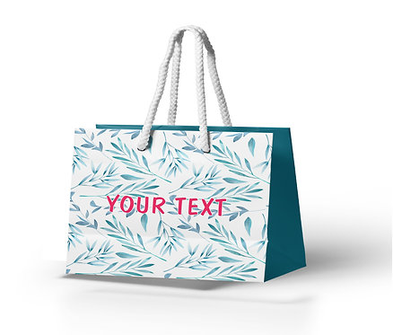 Personalized Paper Gift Bags (BBAG 001)
