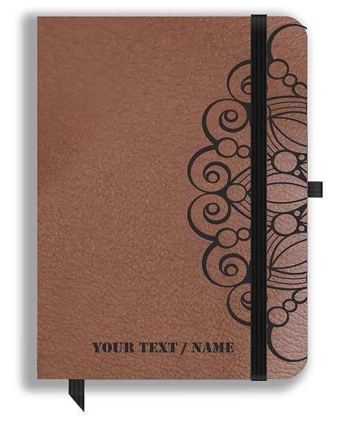 Personalized Leather NoteBook / Diary (NBLTHR 001-7A)