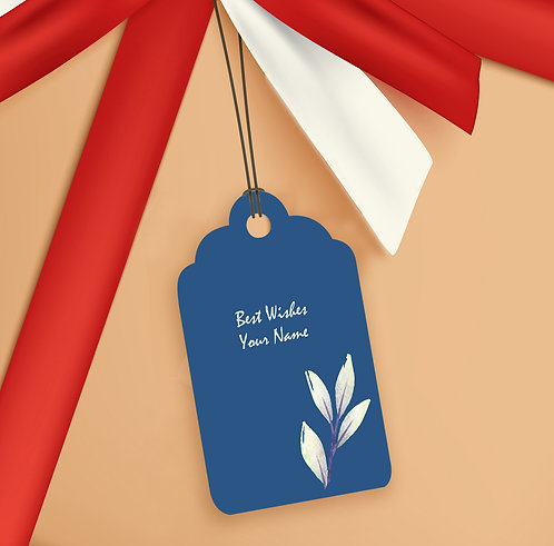 Gift Tags (Pack of 20 / 60)  (GT sh 09)