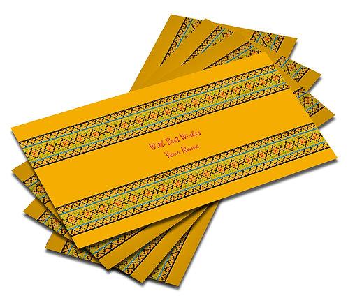 Customized Velvet Finish Shagun Envelopes