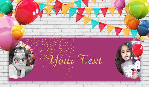 Personalized Banner (Ban 005)