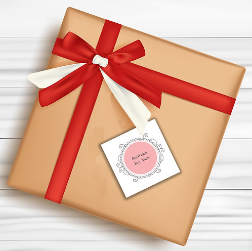 Gift Tags (Pack of 30 / 60)  (GT 19)