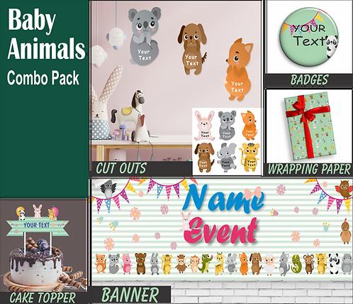 Baby Animal Theme Combo (PS Combo 4)