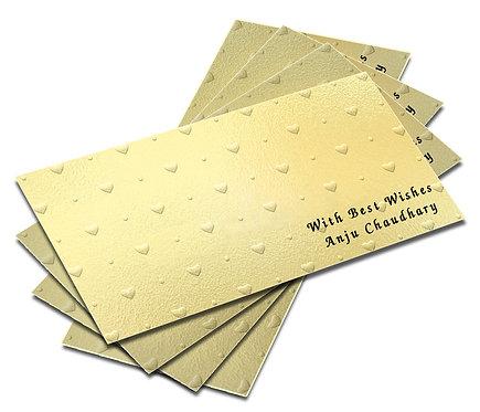 Customized Embossed Shagun Envelopes