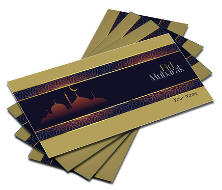 Shagun Envelopes For Eid (Pack of 10)