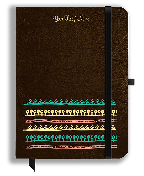 Personalized Leather NoteBook / Diary (NBLTHR 024)
