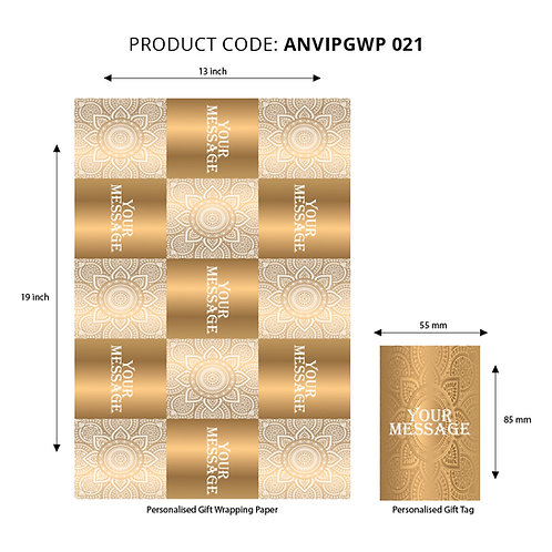 Wrapping Paper 021 (Pack of 5)