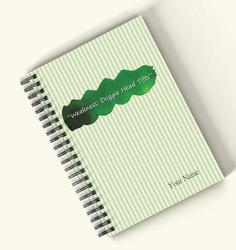 Personalized Hardbound Wiro / Spiral NoteBook / Diary (NBHB Wiro 002)