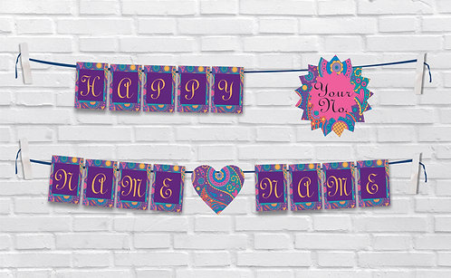 Anniversary Bunting Banners (AnBBan 38)