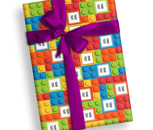 Customized Blocks Theme Wrapping Papers (PS WP 03)