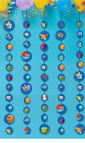 Customized Space Theme Danglers (PS Ani Dang 06)