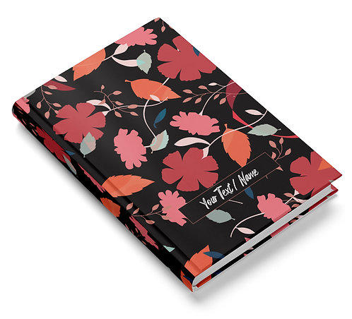 Personalized Hardbound Pasted Board NoteBook / Diary (NBHB 031)
