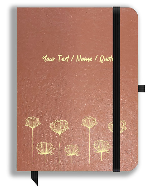 Personalized Leather NoteBook / Diary (NBLTHR 030)