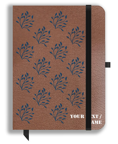 Personalized Leather NoteBook / Diary (NBLTHR 001-21A)