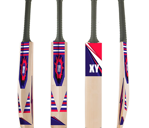 Customized Cricket Bat Stickers Personalized with Name/Text (CricBatStic  05)