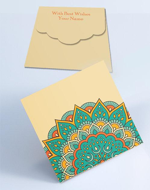 Customized Square Shagun Envelopes (SESmall 08)