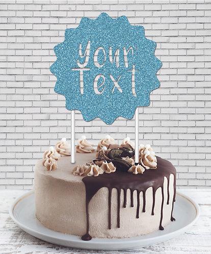 Cake Topper (CT Sky Blue 01)