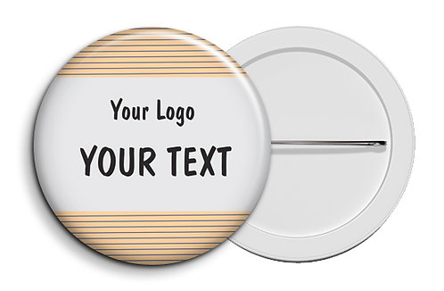 Personalized Button Badges (Pack of 20) (ButnBadge 036)