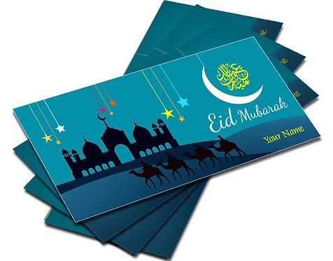 Shagun Envelopes For Eid (Pack of 10)