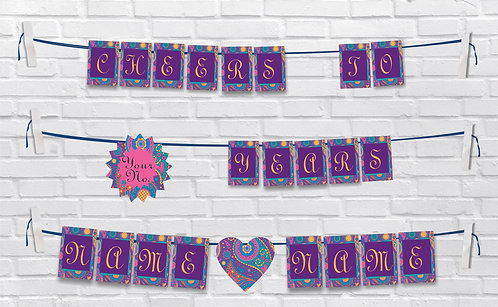 Anniversary Bunting Banners (AnBBan 40)