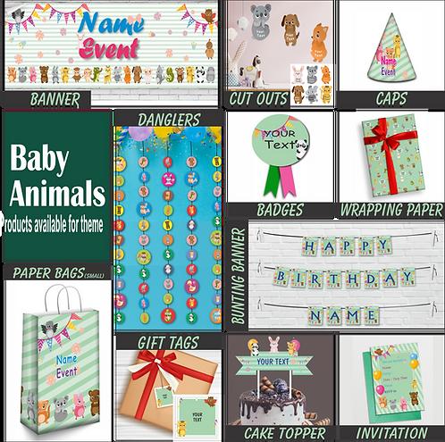 Baby Animal Theme Combo (PS Combo 3)