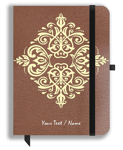Personalized Leather NoteBook / Diary (NBLTHR 001-4A)