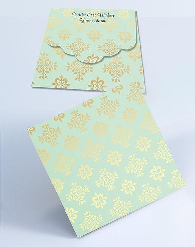 Customized Square Shagun Envelopes (SESmall 14)